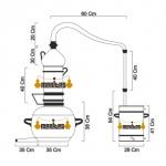 Distillateur à colone de cinquante litres (1)