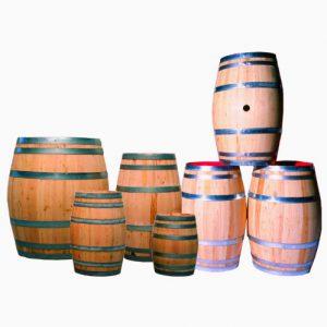 Tonneau en bois de 300 litres